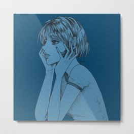 thinkin' about u Metal Print