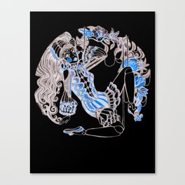 Harlequin Series 5 Canvas Print