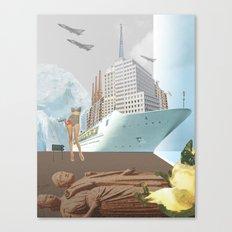 atmosphere 42 · Papierschiffträume Canvas Print