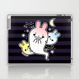 naughty halloween bunny ghost Laptop & iPad Skin