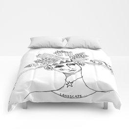 Landscape Escape GRRRL Comforters