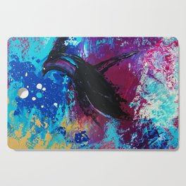 Diving Penguin Cutting Board