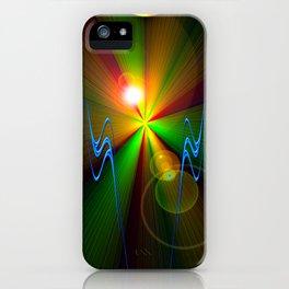 Light show 3 iPhone Case