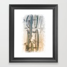Rusty Blues Framed Art Print