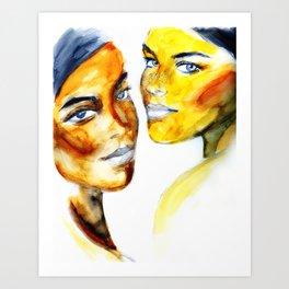 Belles Art Print