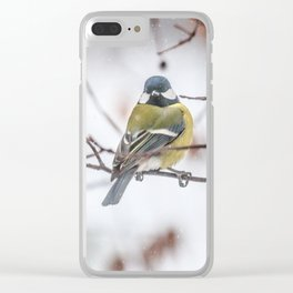 May the Force be with you. Tit Vader Clear iPhone Case