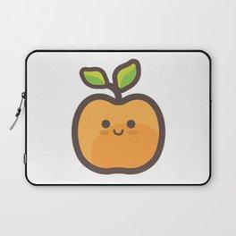 Kawaii Peach Emoji Laptop Sleeve