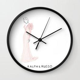 Rose dress Wall Clock