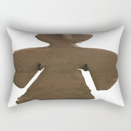 Adobe Angel V Rectangular Pillow