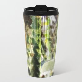 Cactus Garden Art Triangles 2 Travel Mug