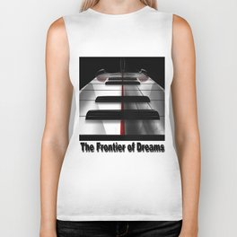 Piano - by HS Design Biker Tank