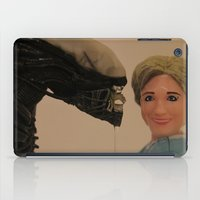 politics iPad Cases featuring In Politics, No One Can Hear You Scream by Beastie Toyz