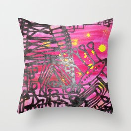 River North Throw Pillow