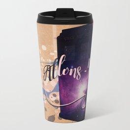 Tardis' Allons-y! Travel Mug