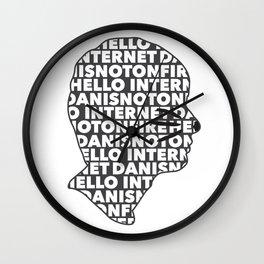 Hello Internet! Wall Clock