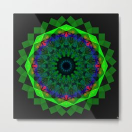 Systematic Synergy Metal Print