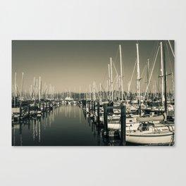 Boats Anchor 0549 Belvedere Tiburon California Canvas Print