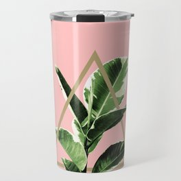 Ficus Elastica Geo Finesse #1 #tropical #foliage #decor #art #society6 Travel Mug