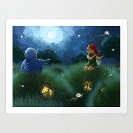 Midnight Serenade Art Print