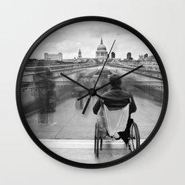 Invisible, Millennium Bridge, London Wall Clock