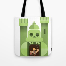 abstract greyskull castle Tote Bag
