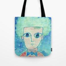 Grid boy Tote Bag
