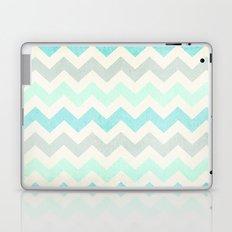 Crazy for Chevron - Vintage Slate Laptop & iPad Skin