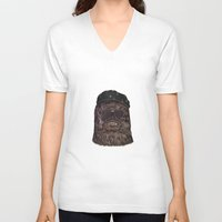 che V-neck T-shirts featuring che bacca by Heymikel