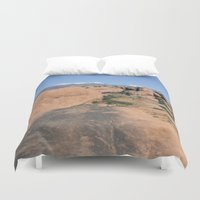 utah Duvet Covers featuring Moab Utah by BACK to THE ROOTS