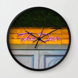 The Den Wall Clock