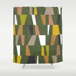 Modern Geometric 47 Shower Curtain