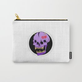 Branded, ancient skull Carry-All Pouch