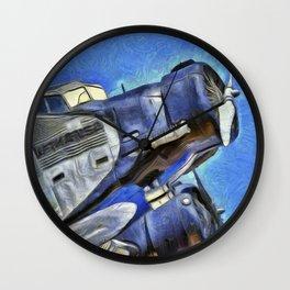 Junkers Ju 52 Van Gogh Wall Clock