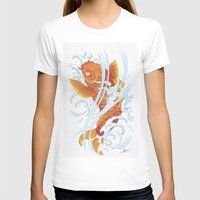 koi fish T-shirts featuring Koi Fish by Give me Violence