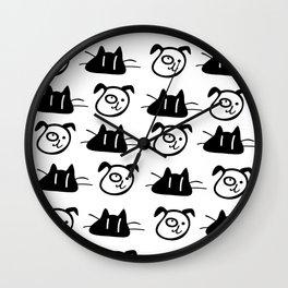Love my pets Wall Clock