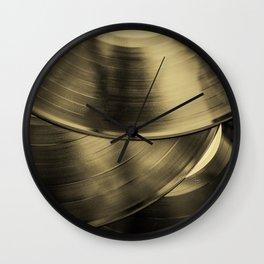 Vintage Vinyl II Wall Clock