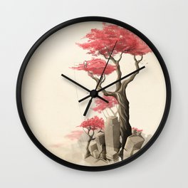 Revenge of the nature III: Fishing memories in the old world Wall Clock