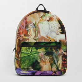 The Fairy's Woodland Funeral by John Anster Fitzgerald Backpack