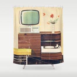 Index Shower Curtain