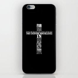 John 3:16 iPhone Skin