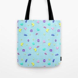 Confetti Grid Tote Bag