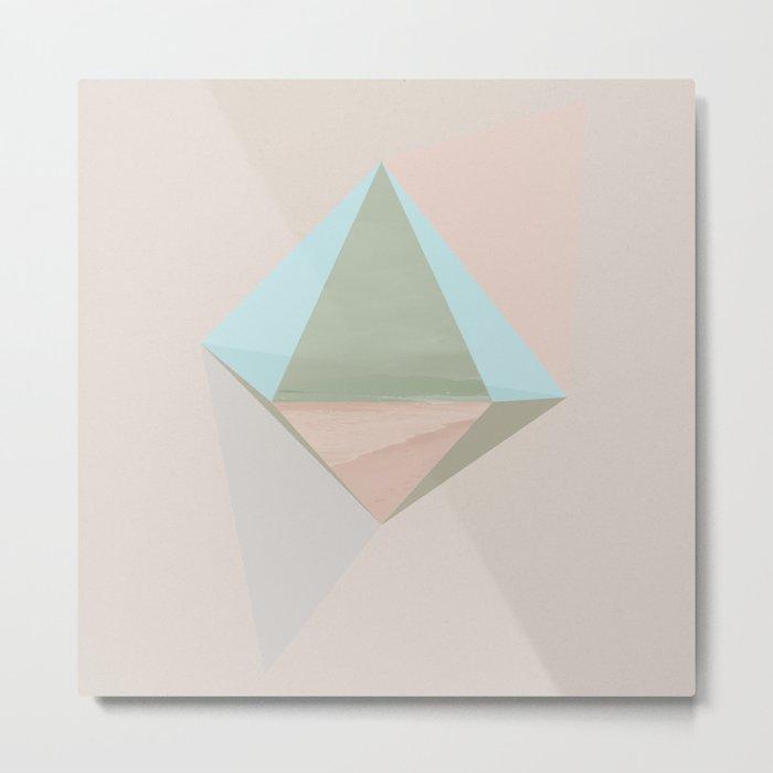 pentagonal dipyramid Metal Print