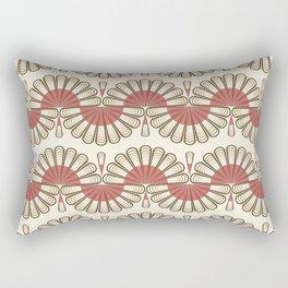 Art Deco 53 . Eastern . Rectangular Pillow
