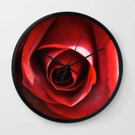 Red Hot Wall Clock
