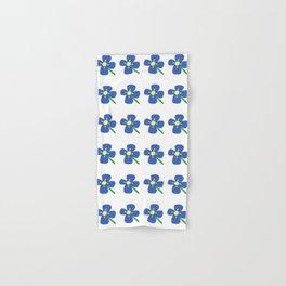 Blue Daisies Hand & Bath Towel