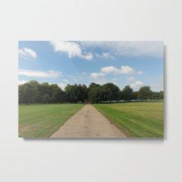 Symmetry In Hyde Park Metal Print