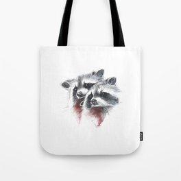 Raccoons I Tote Bag