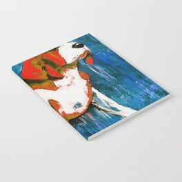 Orange Puppy Notebook