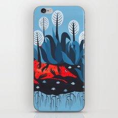 Smug red horse 3. iPhone & iPod Skin