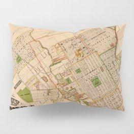 Map Of San Jose 1886 Pillow Sham